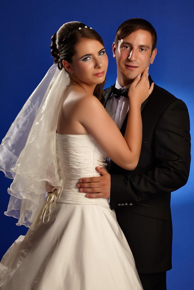 fotografie de nunta in studio