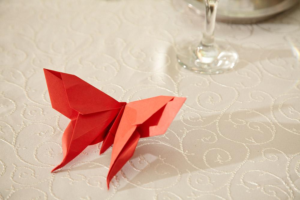 origami ca marturie de nunta
