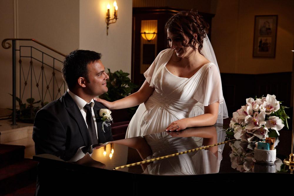 fotograf nunta la pian