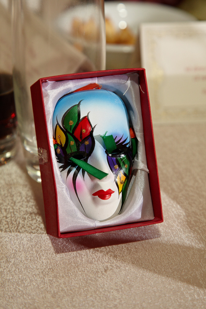 masca de carnaval ca marturie de nunta