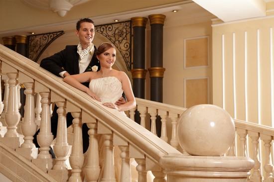 fotografii nunta in interiorul hotelului Marriott