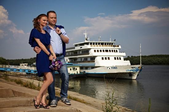 la Dunare printre vase fluviale