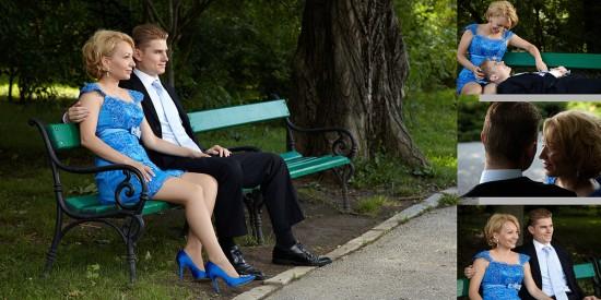 sedinta foto de logodna in parc