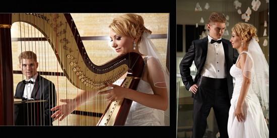 mireasa la harpa