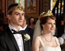Nunta Georgianei cu Cristi