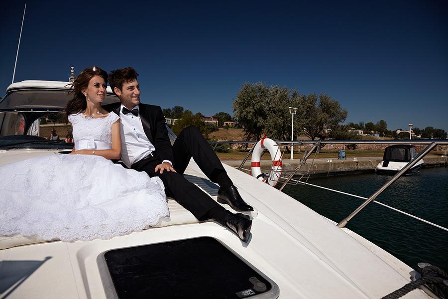 mirii pe ambarcatiune dupa nunta