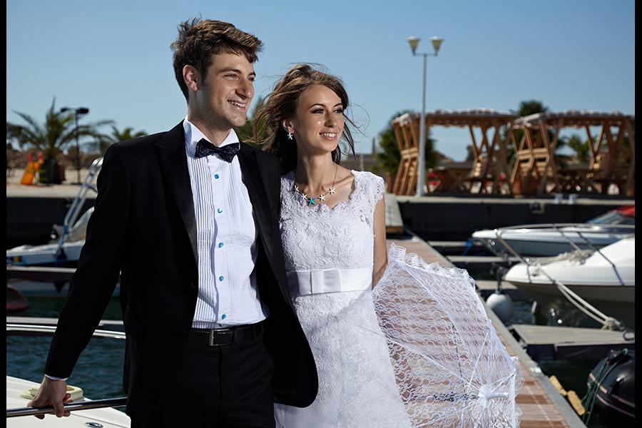 in portul de vase de agreement dupa nunta